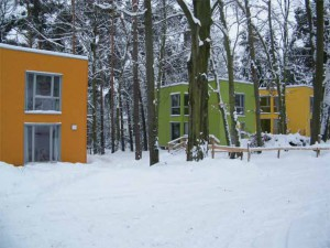 4. Villa Jühling. Neue- Häuser-im-Winter. Foto Archiv